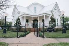 """""""Magnolia House Bed and Breakfast, McGregor TX"""" it's so pretty - not super my style, but gorgeous"""