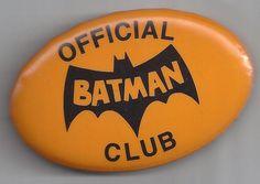 Batman Official Club Button 1966 National Periodical DC Comics Mint | eBay