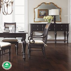 """Appalachian Hardwood Manufacturers Inc. Consumer Member:  Mohawk Industries - Rockford Hickory Solid 3.25"""" in Hickory Sable"""