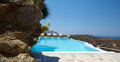 Perched on a hill, in Faros area of Mykonos, Lights of Mykonos offers elegant, Cycladic-style villas with private pools surrounded by furnished,. Villa Pool, Villa With Private Pool, Mykonos Island Greece, Ornos Beach, Pool Bedroom, Mykonos Villas, Iron Balcony, Free Park