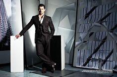 My Christian Grey!!  Phoenix Magazine - David Gandy by Leigh Keily