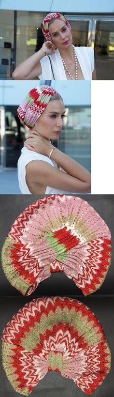Hair Accessories 45220: Nwt Missoni Mare Striped Zig-Zag Crochet Knit Beach Turban Headband 1 Size Italy -> BUY IT NOW ONLY: $145 on eBay!