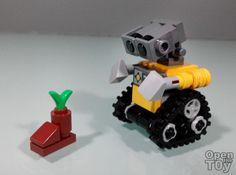 Lego Wall E, Lego Activities, Lego Mechs, Lego Disney, Cool Lego, Lego Building, Custom Wall, Lego Ideas, Super Heros
