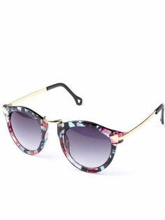 For all the beautiful women out there, this is the perfect pair for you. it can add zing to any outfit. The floral deign is minimal and stylish.  Full protection against ultraviolet light Lenses block 99% or 100% of UVB and UVA rays Lenses meet ANSI  blocking requirements.  UV 400 protection. (These block light rays with wavelengths up to 400 nanometers, which means that your eyes are shielded from even the tiniest UV rays) Right Hue for correct color perception