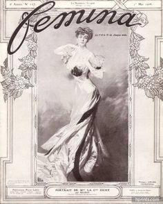 Giovanni Boldini 1906 Comtesse Zichy, portrait