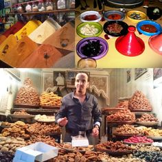 Spices, condiments in tagines and pastries: a visual and culinary delight!