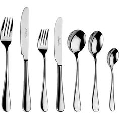 ARTHUR PRICE Camelot 7-piece stainless steel place setting ($49) ❤ liked on Polyvore featuring home, kitchen & dining, flatware, stainless steel silverware, arthur price, stainless steel tea spoons, stainless steel teaspoons and stainless steel dessert spoons