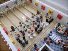 Lego bowling alley
