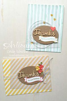 nutmeg creations: Endless Thanks - Stampin' UP Artisan Blog Hop