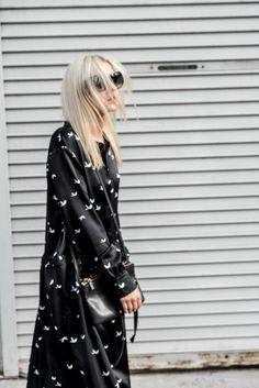 La Collection + Damoy Antwerp silk satin dress with minimal accessories #ootd #minimal #DamoyAntwerp #figtny