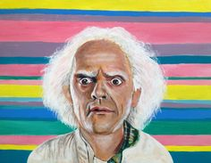 Hey, I found this really awesome Etsy listing at https://www.etsy.com/listing/101762102/back-to-the-future-doc-brown-pop-art