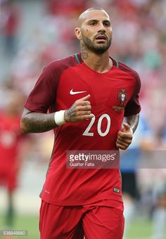 LISBON, PORTUGAL - JUNE Portugal forward Ricardo Quaresma during the International Friendly match between Portugal and Estonia at Estadio da Luz on June 2016 in Lisbon, Portugal. Portugal Soccer, Restaurant Pictures, I Love Him, My Love, Blurred Background, Soccer Players, Man Candy, Ronaldo, Real Madrid