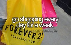 Shopping is my cardio ♡
