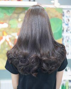 "48 Likes, 2 Comments - Anna's Salon (@annassalon) on Instagram: ""สีน้ำตาลหม่นเทา By Anna's Salon By Anna #annassalon #hair #hairlook #hairwork #hairstyle…"""