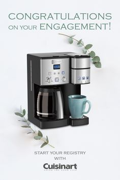 Coffee Center™ 12 Cup Coffeemaker and Single-Serve Brewer Single Coffee Maker, Drip Coffee Maker, Coffee House Decor, Paint Colors For Living Room, Room Paint, Coffee Center, Christmas Entertaining, My Coffee, Morning Coffee