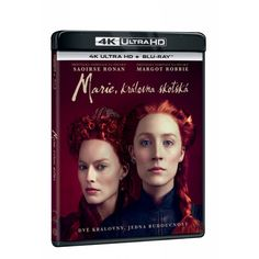 Blu-ray Marie, královna skotská, UHD + BD, CZ dabing | Elpéčko - Predaj vinylových LP platní, hudobných CD a Blu-ray filmov Mario