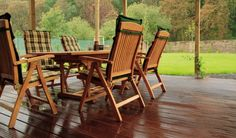 Czym impregnować meble ogrodowe