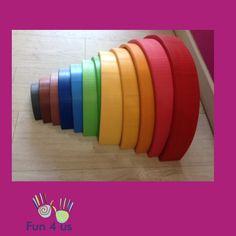 ARCOIRIS 12 ARCOS (Darriba), Juguete para niños con problemas de Creatividad, juguete adaptado para niños con problemas de Creatividad Waldorf Education, Girls Toys, Arches, Concept, Note Cards