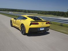 Looks cool, goes fast. Those things you'd expect from a Chevrolet Corvette. But more endearing for people using the redesigned 2014 Co... #funrides#cars#racing
