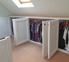 Best No Cost Small Bathroom attic Style Smaller bathrooms tend to be difficult design. On the one hand, s Best No Cost Small Bathroom attic Style Smaller bathrooms tend to be difficult design. On the one hand, simply because they're small, anyo Attic Bedroom Storage, Attic Master Bedroom, Attic Bedroom Designs, Attic Design, Upstairs Bedroom, Attic Rooms, Attic Spaces, Closet Bedroom, Loft Design