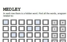 FREE - Today's Puzzle   Go ahead, click, download and solve     Word and Number Games and Puzzles