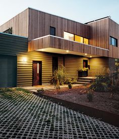 The Boglis' thermal energy-powered home in the Alberta Arts District was dubbed the Stump House by the architect—perhaps as a nod to Port...