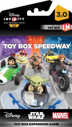 Closer Look At The Disney Infinity 3.0 Toy Box Speedway Packaging