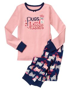 OMG!!! Pugs and Kisses Two-Piece Gymmies® at Gymboree