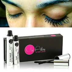 BACK IN STOCK - Blowout SALE - New 3D Fiber Lash Mascara Set by Mia Adora - Water & Smudge Proof - Non Toxic & Natural Ingredients that Strengthen and Condition Your Natural Eyelashes - Comes with a FREE Bonus eBook to Get Longer Eyelashes than You've Ever Had - Plus: 60 DAY MONEY BACK GUARANTEE! MIA ADORA #3dfiberlashes #3dfibermascara #miaadora #mascara #eyelashes #eyelashextensions #makeup