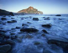 Gaztelugatxe beach, Bay of Biscay, Basque country, Spain