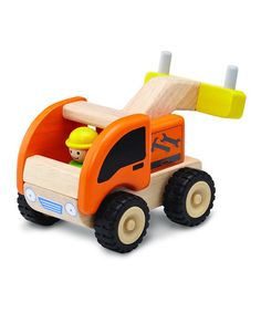 Take a look at this Mini Tow Truck by Wonderworld on #zulily today!