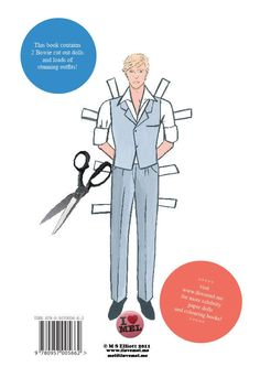 DAVID BOWIE PAPER DOLLS BOOK