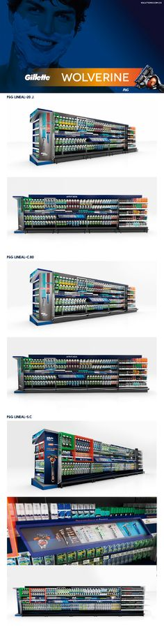 Lineales P&G - Gillette on Behance