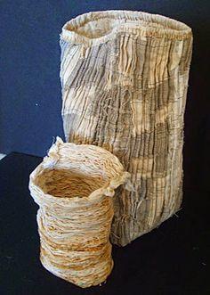 Janet Edmonds, quilted basket