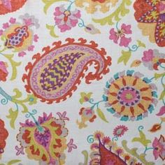 Ladbroke Punch Floral Linen Look Drapery Fabric - - Fabric By The Yard At Discount Prices Discount Fabric Online, Buy Fabric Online, Hertex Fabrics, Custom Window Treatments, Grey And Beige, Drapery Fabric, Fabric Design, Upholstery, Punch