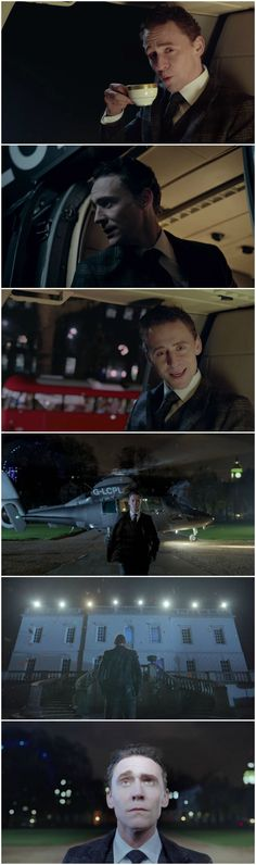 Jaguar commercial featuring Tom Hiddleston.