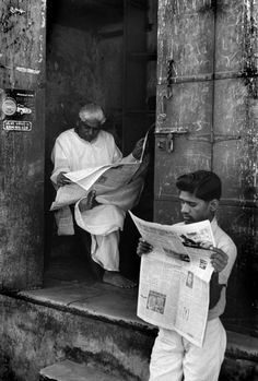 © Henri Cartier-Bresson/Magnum Photos INDIA. Gujarat. Ahmedabad. 1966. Old city.