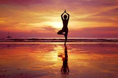 meditation beach sunset - Google Search