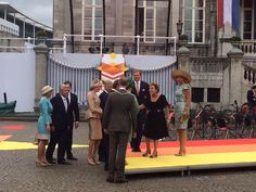 European royalty joining in celebration of 200 year Kingdom of the Netherlands in Maastricht