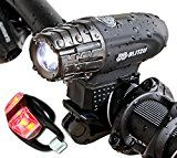 Super Bright USB Rechargeable Bike Light - Blitzu Gator 320 POWERFUL Bicycle Headlight - TAIL LIGHT INCLUDED. 320 Lumens LED Front Light. Waterproof, Easy Installation for Cycling Safety Flashlight by Blitzu  (1574)Buy new:  $  79.99  $  24.97 (Visit the Best Sellers in Sports & Outdoors list for authoritative information on this product's current rank.) Amazon.com: Best Sellers in Sports & Outdoors...