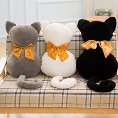 KCASA KC Super Cute Soft Plush Cat Back Sofa Pillow Cushion Stuffed Animal Doll Pillows is hot sale on Newchic,here throw pillow with cheap discounts. Sofa Pillows, Cushions, Throw Pillows, Sewing Projects, Projects To Try, Pillows Online, Kids Toys, Toddler Toys, Decorative Pillows