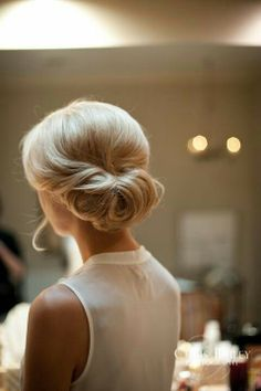 Hair for wedding