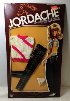 NRFB vintage Jordache Jean Doll Fashions #jordache #jordachedoll #vintagebarbie