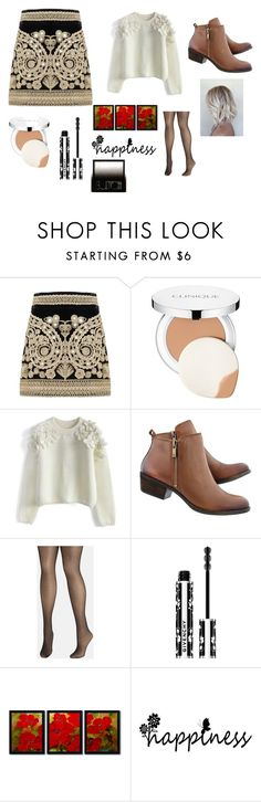 """""""Untitled #155"""" by cj34turtles on Polyvore featuring For Love & Lemons, Clinique, Chicwish, Avenue, Givenchy, Trademark Fine Art and Surratt"""