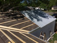 Finishing Up Furring Strips Metal Roof Galvalume