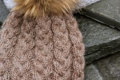 cabled hat - norwegian pattern