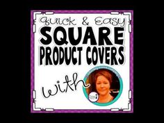 Quick and Easy Square Product Covers for TpT - Video tutorial and FREEBIE borders! ~ Literacy Loves Company