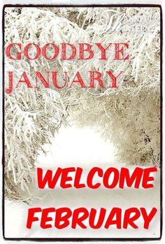 Goodbye January, Welcome February month january february february quotes hello february goodbye january Seasons Months, Days And Months, Months In A Year, Welcome February Images, Hello February Quotes, January Images, Happy New Month Quotes, New Month Wishes, February Month
