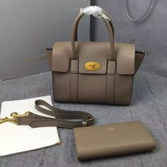 7719294b483 New Mulberry Handbags Collection Outlet UK-Mulberry Small New Bayswater  Dune Small Classic Grain