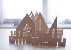 My Town - puzzle town My Town, Wooden Toys, Kids Toys, Bubbles, Puzzle, Design, Home Decor, Homemade Home Decor, Wood Toys